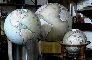 high end globe makers