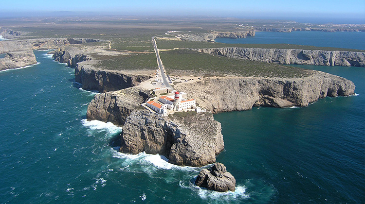 Sagres and Cape São Vincente played a key role in the Portuguese Age of Exploration