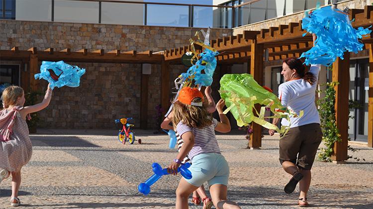 Martinhal Village Square Kids Fun