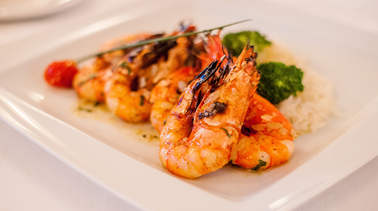 Martinhal Restaurants Prawns